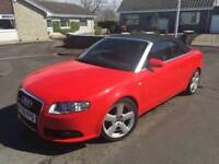 2008 A4 TDI S Line Cabriolet Px Swap