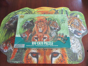 Big Cats Puzzle - 50 Large Pieces Ages 3 and up