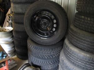 245/60R18 snow tires with chrysler 300/ Dodge charger AWD rims