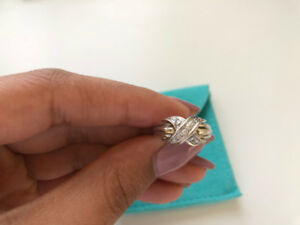 Tiffany & Co. Signature Collection X Ring - Rare