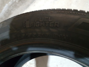 All season tires 205 55R16 Firestone Set of 4