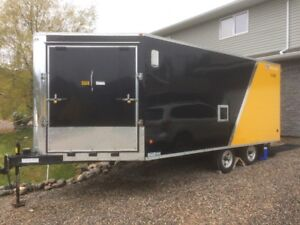 2010 Royal XR Sled 3-Place enclosed trailer