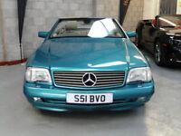 Mercedes-Benz SL500 5.0 auto 1998 (S) Convertible V8