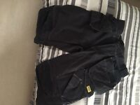 Snickers work trousers 3/4