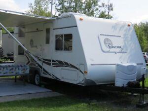roulotte 21 pieds 2006 avec bunk beds