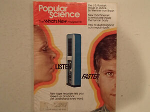 Vintage Popular Science Magazine January 1975 GC