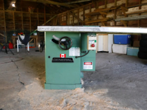 General 3HP industrial table saw.