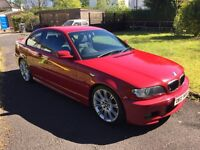 BMW 320cd / 320d Sport Coupe Manual Imola Red
