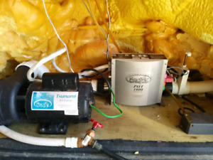 2 speed hot tub pump