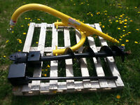 3 point hitch post hole auger with 8 inch auger