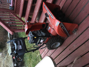 Snow blower- used once