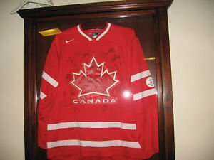 2010 Team Canada Signed Olympic Jersey