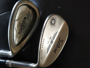 Callaway X-14 and Titleist SM Vokey Tour Wedges