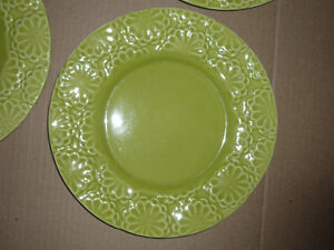 4 Dinner Plates from Pier 1 : NEW : Never Used : As Shown .. Cambridge Kitchener Area image 2