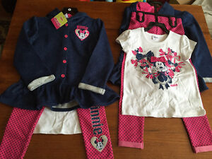 New! Disney Minnie Mouse 3 pc set girls size 5 Kitchener / Waterloo Kitchener Area image 1