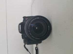 Canon rebel t5i and 18-135 lens