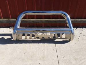 Westin stainless push bar for Chev pick up