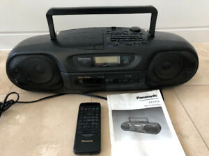 Panasonic portable stereo CD system RX-DT55  CD/cassette/radio