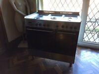 Delonghi Range Cooker Dual Fuel Stainless