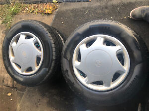 4 new tires with rims all season Michelin for Toyota