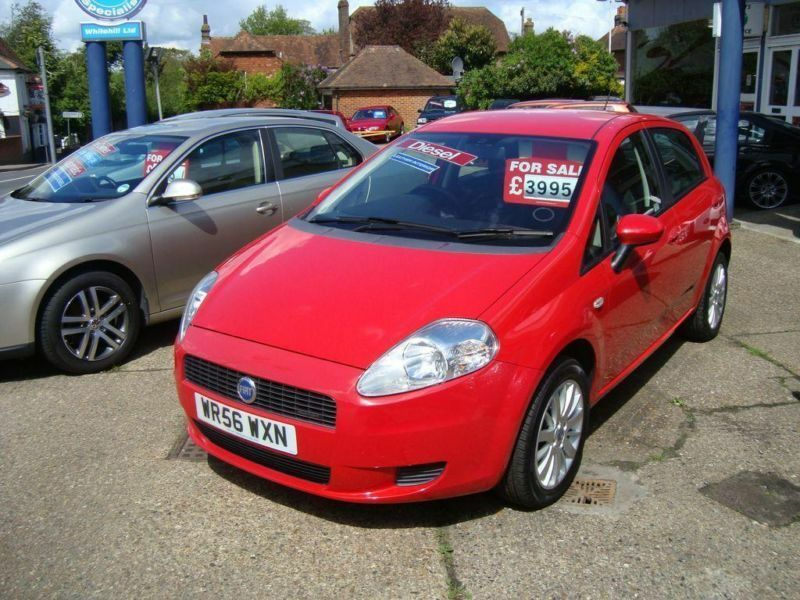 2007 fiat grande punto 1 9 multijet eleganza in meopham kent gumtree. Black Bedroom Furniture Sets. Home Design Ideas