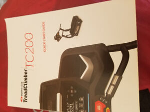 Brand new only used a few times bowflex tc200 treadclimber