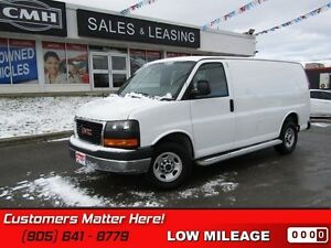 2015 GMC Savana Cargo Van 1WT   RUNNING BOARDS, SAFETY CAGE, POW