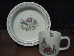 Peter Rabbit Childs Mug & Bowl Set