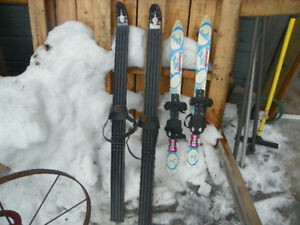 Youth Strap Over Boot Cross Country Skis