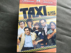 Unopened complete season of Taxi television show.D.V.D