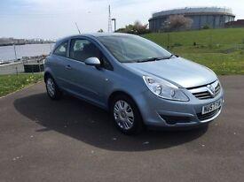 Vauxhall Corsa 1.3 Cdti, 57, 2008, 12 months mot 6 months extendable Warranty