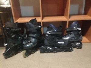 Rollerblades Bauer F11 and Vision ultrafit