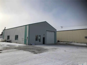 40x60 heated shop for sale Grenfell,sk