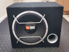 JBL GT4 Series High-Performance Subwoofer