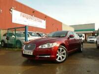 JAGUAR XF 3.0d V6 Luxury 4dr Auto DIESEL FJSH S/NAV LEATHER AC P/AID 2/OWNER