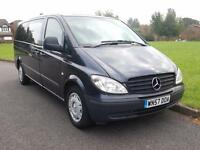 Mercedes-Benz VITO 111 CDI DIESEL AUTOMATIC EXTRA LWB 9 SEATER +FMSH