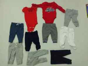 Trousers and shirts for baby