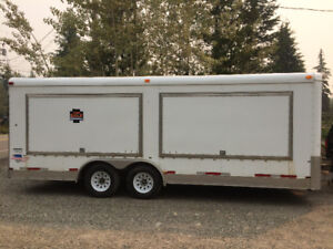 Interstate EnclosedTrailer  20 foot with TWO Awning Doors
