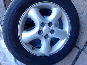 16 in tires and rims Windsor Region Ontario image 1
