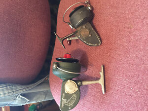 2 Dam Quick collectable spinning reels, made in West Berlin