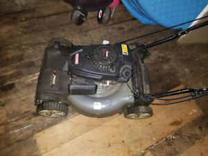 "159cc 21"" ez start craftsman self propelled lawn mower"