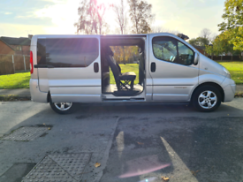 FOR SALE SWAP PX 2010 RENAULT TRAFIC SPORT MINIBUS AUTOMATIC NO VAT