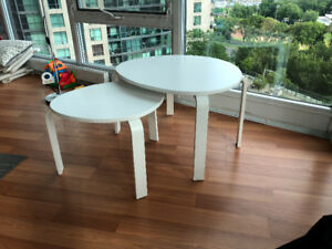 Ikea Svalsta coffee tables