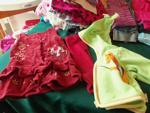 girls size 6 months fall/winter clothes