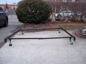 METAL BED FRAME ( QUEEN ) or SMALLER