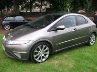 Honda Civic 2.2i-CTDi EX,sat nav