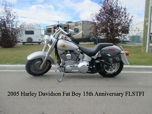 2005 Harley Davidson Fat Boy 15th Anniverdary Edition - 8800 KM!