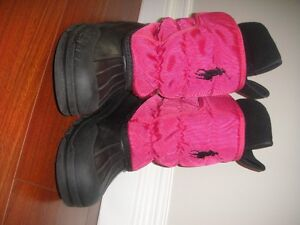 girls winter boots size 3