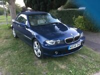 BMW 330ci Convertable LHD