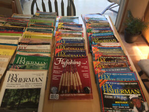 Fly fisherman, bc outdoor magazine 250 plus dating from 1970